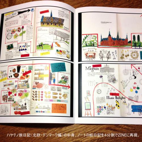 (ZINE)ハヤテノ旅日記(北欧・デンマーク編)内容1
