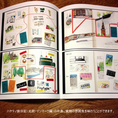 (ZINE)ハヤテノ旅日記(北欧・デンマーク編)内容2